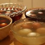 Selbstversuch: Eierfärben mit Pflanzenfarben