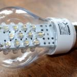 Ein Lob auf die LED-Lampe (mit Zahlen und Retro-Futurismus)
