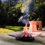 Fundstücke (jedenfalls fast alle) – Im Dunkeln läßt es sich gut munkeln – Gartenfeuer