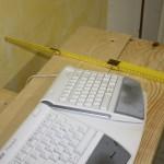 """Ein Arbeitszimmer für den Autor, Teil 7: """"Die Machbarkeit des Schreibtisches"""""""