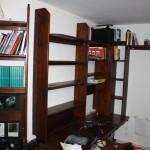 """Ein Arbeitszimmer für den Autor –  Teil 17: """"Die restlichen hinteren Regale"""""""