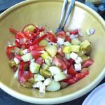 Die perfekte Grillbeilage – Griechischer Kartoffelsalat