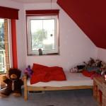 Die rote Lounge – mit Blinken