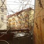 Balkon-Winter