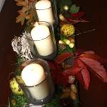 Ein Kerzenständer für ein ganzes Jahr – Herbst